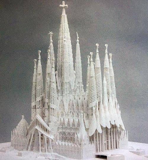 Sagrada Familia Histoire Maquette サグラダファミリア