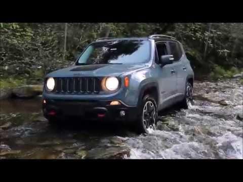 Crossing A Creek In A Jeep Renegade Trailhawk 4x4 In 2020 Jeep Renegade Trailhawk Jeep Renegade 2015 Jeep Renegade