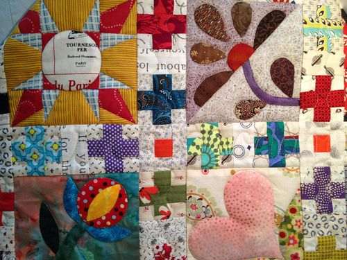 A Symbol Recomposed - quilting.By Lorena in Sydney...