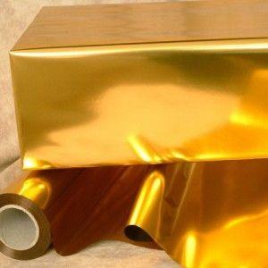 Polipropileno Metalizado Oro Liso,Papel Metalizado,Envoltura Detalle Boda,Papel Plata #Grandetalles
