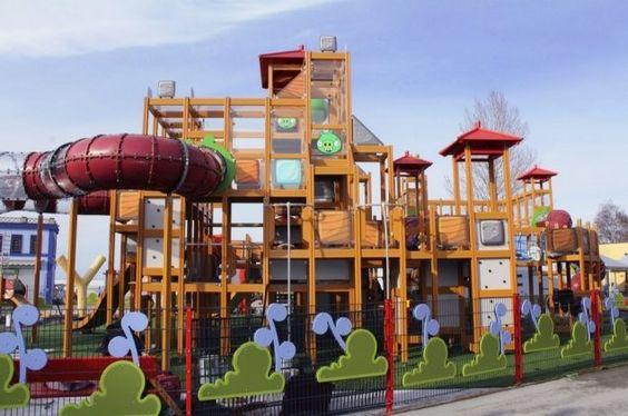 El parque temático Angry Birds Land es ya una realidad