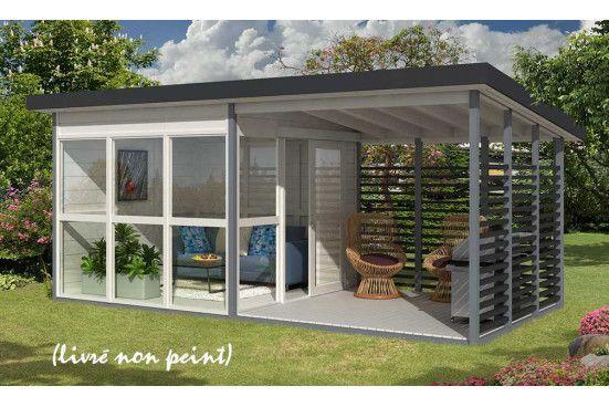 Abri De Jardin Tomsk Panneaux Bois Plancher Inclus 15 90 M Exterieur Abri De Jardin Chambre D Hote Panneau Bois