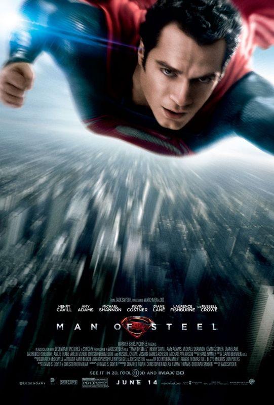 Nuevo póster de Man Of Steel con Henry Cavill