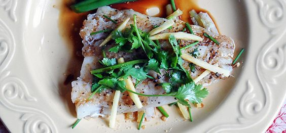 Chinese Style Parchment Fish