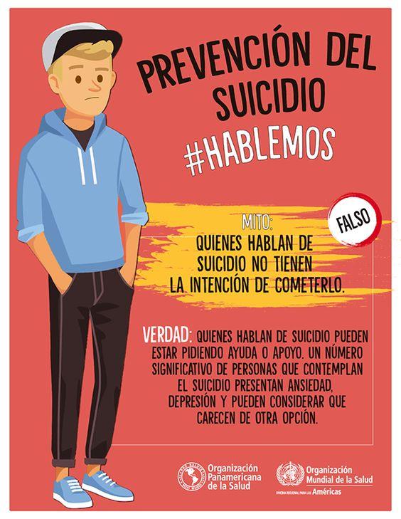 La importancia de hablar acerca de la prevención del suicidio
