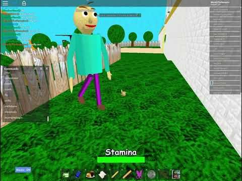 Roblox: Baldi's Basics 3D RP (the end of the day recording) | my