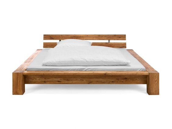 Balkenbett sumpfeiche  balkenbett_kreyenburgS_wildeiche | Bedroom | Pinterest | Bedrooms