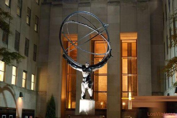 Escultura de Atlas - Nueva York - USA