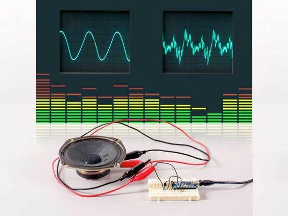 arduino waveform Skill Builder: Advanced Arduino Sound Synthesis