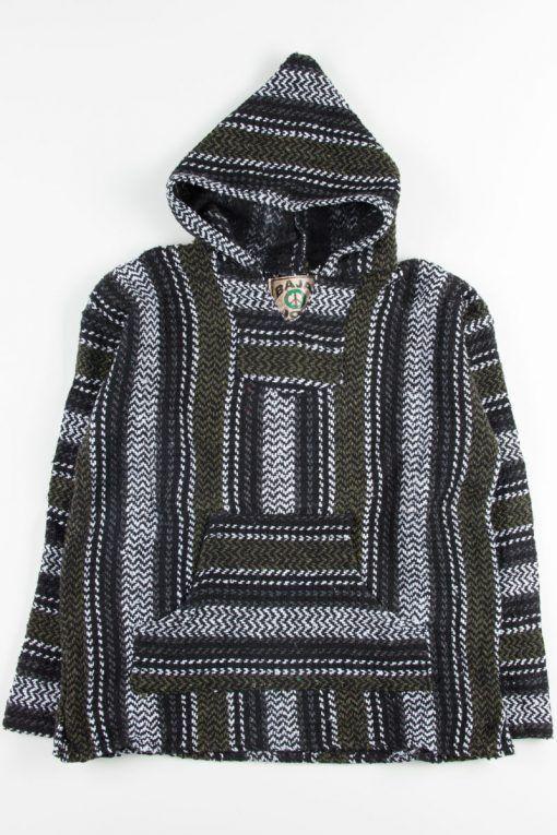 olive baja drug rug hoodie 1 in 2019 | Baja hoodie, Hoodies
