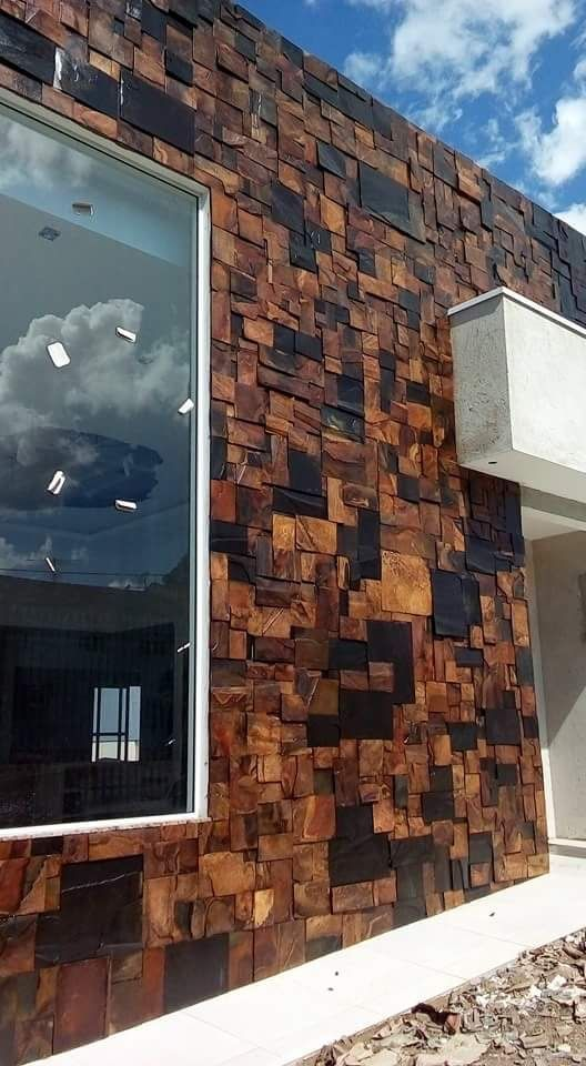 Revestimientos Para Fachadas Materiales Para Fachadas Exteriores Revestimiento Exterior Economico Reve House Designs Exterior House Exterior Exterior Design
