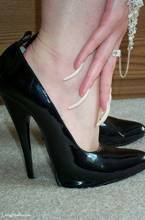 LongNails.com: gallery Long Nails Talons & High Heels | Double ...