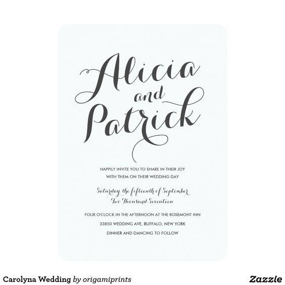 Carolyna Wedding: