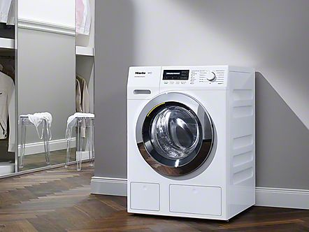These washing machines are perfect partners with the convenience to load, unload and operate from the front. With different installation options, you can install these appliances in many ways. #washingmachines #miele: