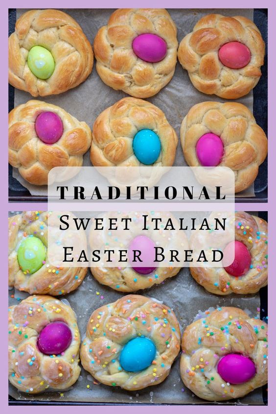 Traditional Sweet Italian Easter Bread - Wine a Little, Cook a Lot