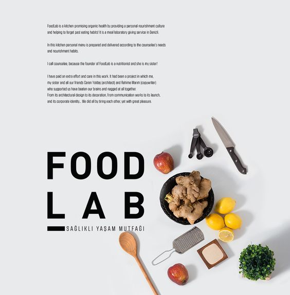 FOODLAB on Behance