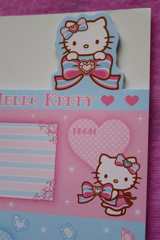 Hello Kitty & Mimmy Friendship Notelet Pad (2007)