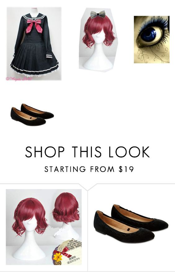 """what i would look like if i went to an anime school"" by shyla-styler ❤ liked on Polyvore featuring Accessorize"