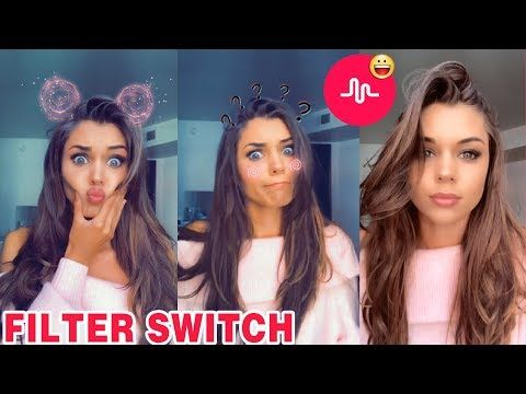 Filter Switch Challenge Funny Musically Tik Tok Compilation Challenges Funny Music Challenges