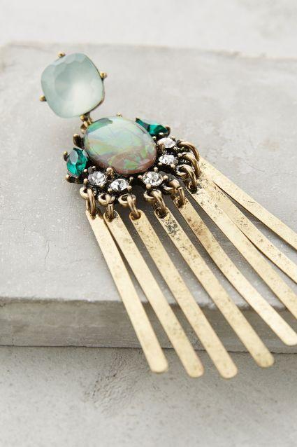 Florian Fringe Earrings - anthropologie.com