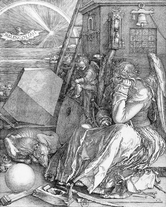 Encyclopedie Larousse En Ligne Albrecht Durer I La Melancolie I Art De La Renaissance Oeuvre D Art Gravure