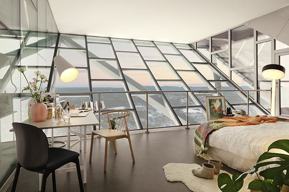 Suspended high above the snow in Oslo, Norway, this Night At took place at the very top of the Holmenkollen ski jump. It's a home fit for an Winter Olympics king.