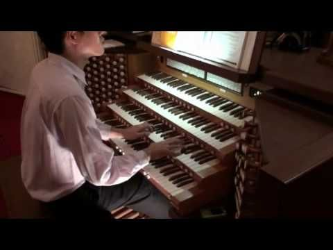 "Mozart ""The Marriage of Figaro"" ""Overture"" - John Hong - Organ Transcription - 피가로의 결혼 - YouTube"