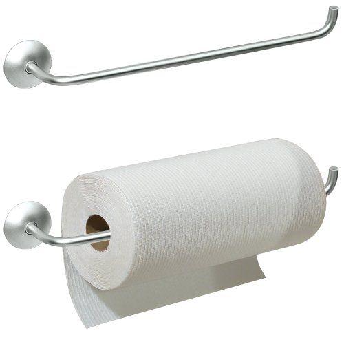 interDesign Classico Wall Mount Paper Towel Holder, Chrome InterDesign http://www.amazon.com/dp/B00004XSFE/ref=cm_sw_r_pi_dp_MrwVub0F8R6N6