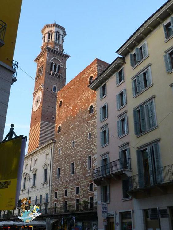 Lamberti Tower - Piazza delle Erbe
