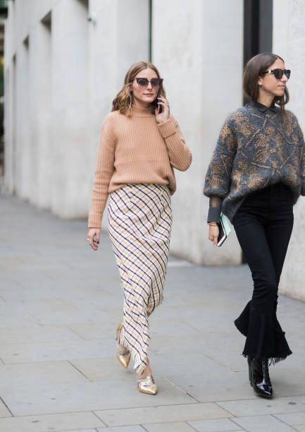 Olivia Palermo at London Fashion Week I