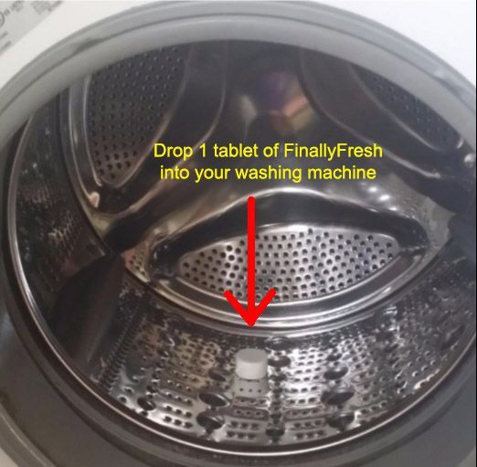 To Clean Stinky Washers Finally Fresh Washing Machine Cleaner Cleaning Clothes Household Cleaning Tips
