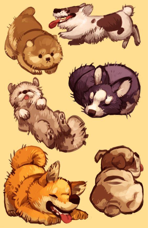 Cute dog drawings tumblr - photo#40