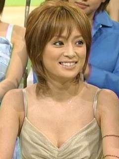 浜崎あゆみのショートヘア画像|美容師の選ぶ可愛く見える髪型1