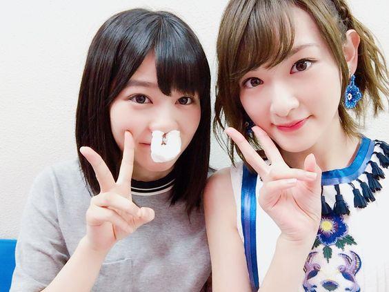 生駒里奈と尾関梨香