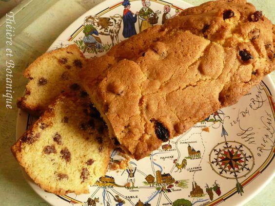 cake aux raisins en Normandie