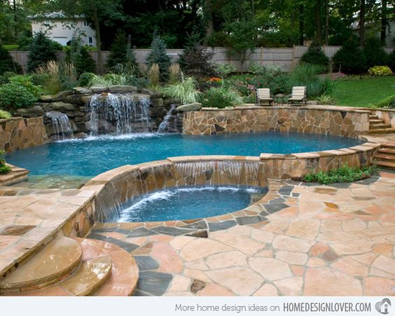 15 great small swimming pools ideas pool spa swimming for Great pool ideas