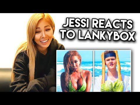 K Pop Idol Jessi Reacts To Lankybox And Roasts Us K Pop With Zero Budget Youtube In 2020 Kpop Idol Pop Idol Kpop