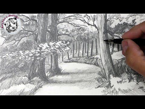 Como Dibujar Un Paisaje A Lapiz Paso A Paso Youtube Paisaje A Lapiz Paisajes Dibujos Como Dibujar A Lapiz