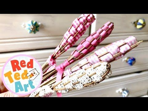 How To Make Drawer Fresheners Easy Lavender Diy For Summer Youtube How To Make Drawers Mothers Day Crafts Lavender Wands