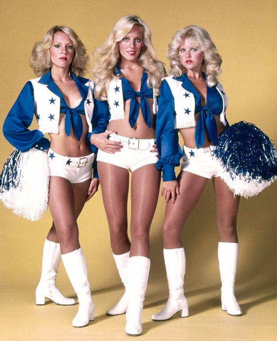 See the Dallas Cowboys Cheerleader Uniform Through the Years!