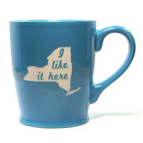 I Like it Here State Mug - New York - Bread and Badger Gifts