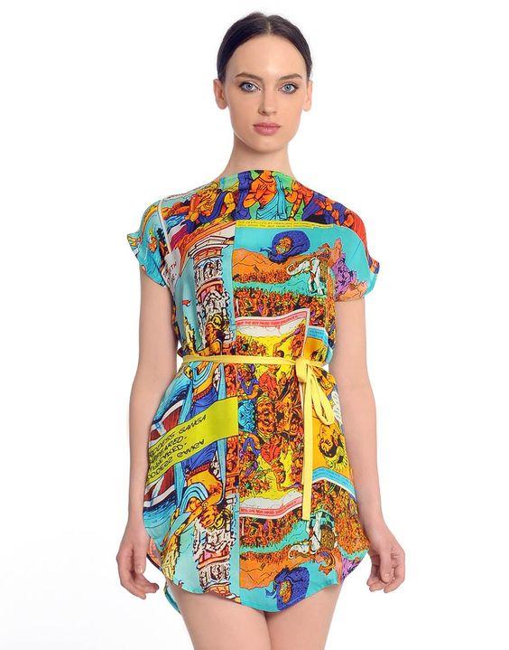 Amar Chitra Katha Dress... soo cool!
