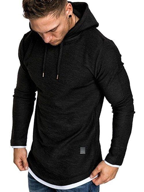 Sweat à capuche Sweat à capuche Pull Sport Veste Slim Outwear Pullover