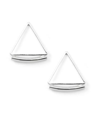 Boucles d'oreilles triangulaires