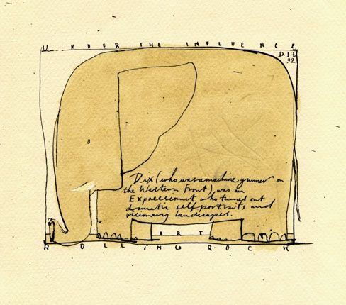 Simple Elephant Envelope Design