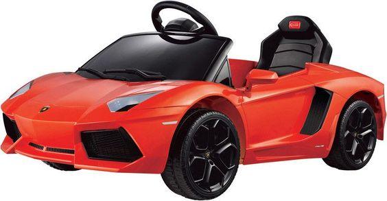 Vroom Rider VR81700-OR Lamborghini Aventador LP700-4 Rastar 6V - Battery Operated/Remote Controlled (Orange)