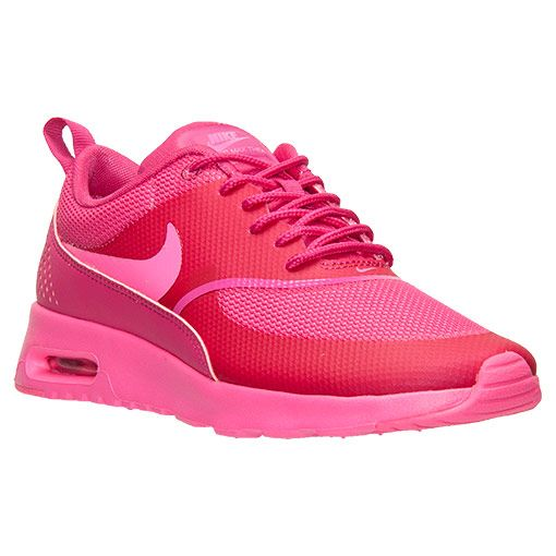 womens nike air max thea print running shoes pink