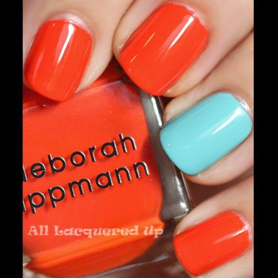 deborah-lippmann-laras-theme-orly-frisky-nail-polish-swatch-summer-2011