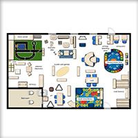Classroom floor planner this is a good site to use for for Classroom layout creator