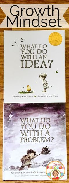 Are you teaching your students about growth mindset? These books by Kobi Yamada…: